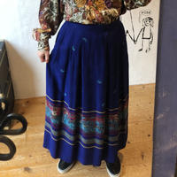 lady's horn & orseriding pattern skirt