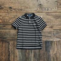 kids RALPH LAUREN S/S border polo  shirts(6T/120cm)