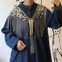 lady's beads&sequins  vintage shawl
