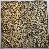 lady's animal pattern scarf