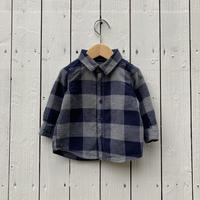 kids babyGAP flannel shirt(12-18M/80cm-85cm)