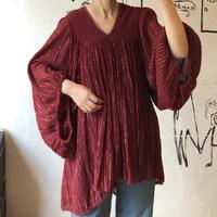 lady's vintage greece cotton tunic one-piece