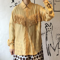 lady's fringe design blouse