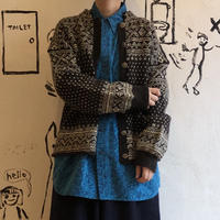 lady's hand knitting cardigan