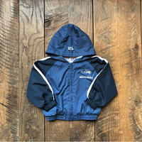 kids NFL SEATTLE SEAHAWKS hoodie nylon jacket(3T/95〜100cm)