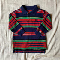 kids CHAPS L/S polo shirt (2T/90cm)