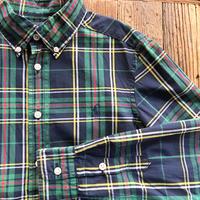 kids RALPH LAUREN L/S B.D check shirts(10-12T/150cm)
