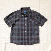 kids RALPH LAUREN S/S check shirts(140cm)