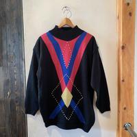 lady's design oversize knit