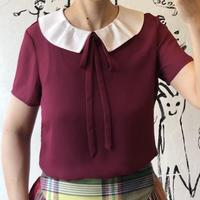 lady's bicolor blouse