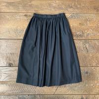 lady's black skirt