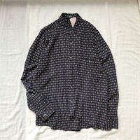 Men's L/S abstract rayon shirts