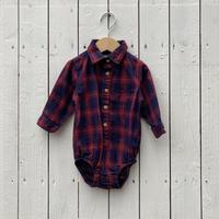 kids Oshkosh shirt rompers(18M/85cm)
