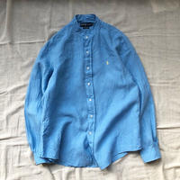 Men's RALPH LAUREN rinen stand collar shirts