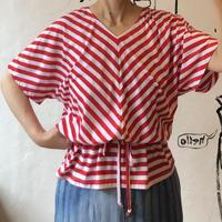 lady's stripe tops