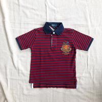 kids RALPH LAUREN S/S rugby  shirts(5T/115cm)