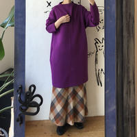 lady's purple sweat one-piece