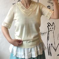 lady's crochet summer knit tops