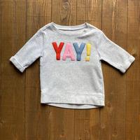 kids 〝YAY!〟sweat(3T/100cm)