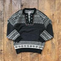 Men's 1980s DALE OF NORWAY nordic sweater(Men's L)