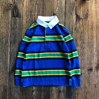kids RALPH LAUREN  L/S rubgy shirts(5T/115cm)