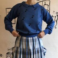 lady's note pattern sweater