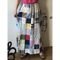 lady's patchwork skirt