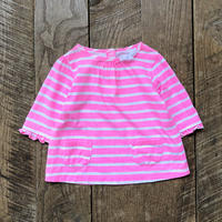 kids Carter's L/S border tops(4T/105cm)