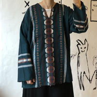 l lady's embroidery tops