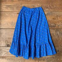 lady's blue  design skirt