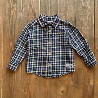 kids flannel shirt(2T/90cm)