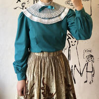 lady's lace collar blouse