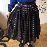 lady's 1950's vintage circular skirt