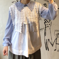 lady's cotton lace tops