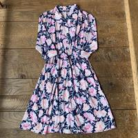 lady's floral dress