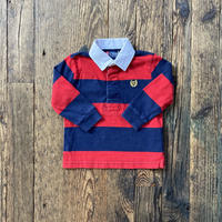 kids L/S CHAPS rugby shirt(18M/85cm)