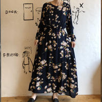 lady'sfloral pattern one-piece