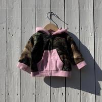 kids camouflage fleece jacket(6M/60cm)