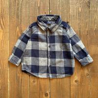 kids babyGAP flannel shirt(12-18M/80-85cm)