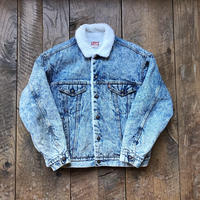 Men's 1980s LEVIS boa denim jacket(Men's L)