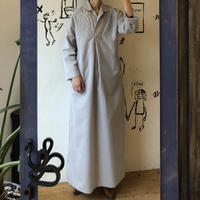 lady's gray color maxi length one-piece