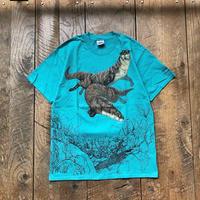 Men's 1990s deadstock Hanes swimming otter T- shirts