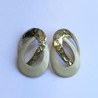 lady's gold × ivory  pierce