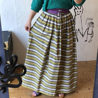 lady's 1970's lace up design skirt