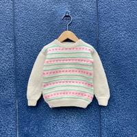 kids border knit(2T/90cm)