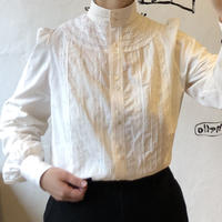 lady's stand collar lace blouse