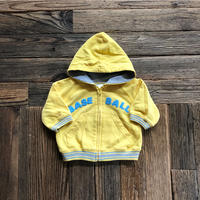 "kids ""BASE BALL""zip up parka(3-6M/60cm)"
