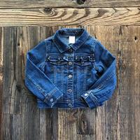 kids frill denim jacket(3T/95〜100cm)