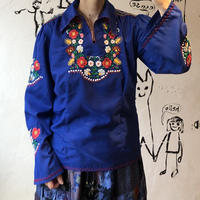 lady's floral embroidery tops