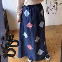 lady's 1970's maxi length skirt